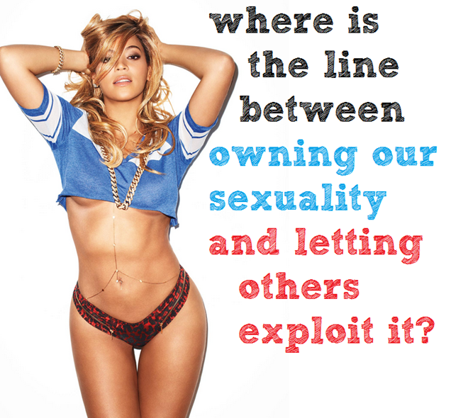 beyonce, the superbowl, and the fine line between ownng our sexuality and exploiting it