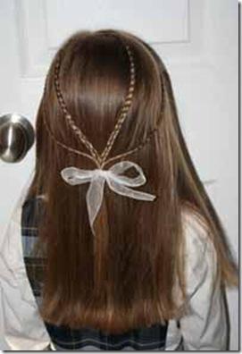 peinado de trenzas para niñas fotos 2012