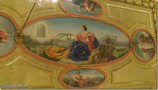 Alegoría de Navarra - Palacio de Navarra - Pamplona