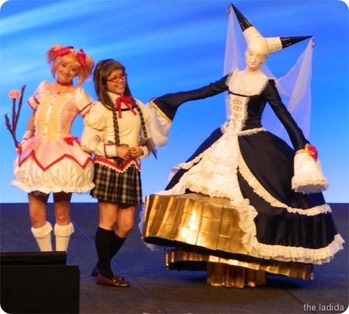 Walpurgis Night, Akemi Homura, and Kaname Madoka from Puella Magi Madoka Magica