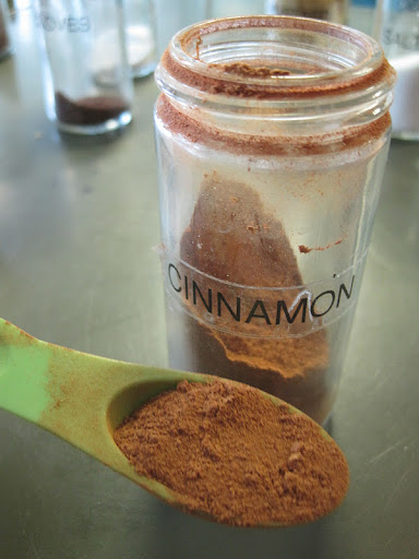 Beautiful, fragrant ground cinnamon.