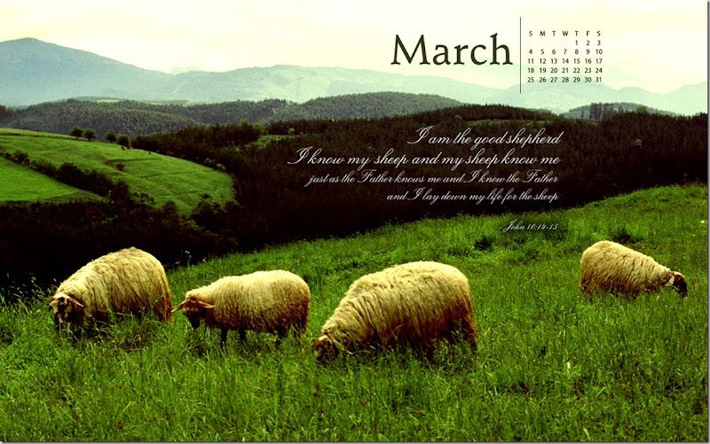 I Am the Good Shepherd. John 10.14-15
