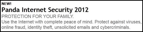 panda internet security 2012 - protection for your family