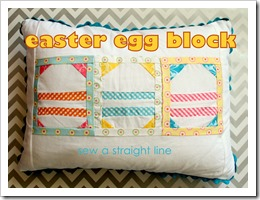 easter egg quilt block