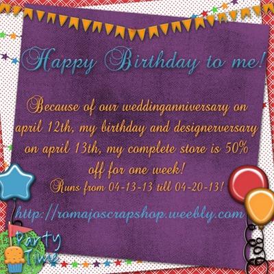 Romajo - Birthday Ad