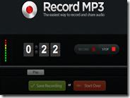 Registrare l'audio del microfono online e ottenere l'MP3 da salvare nel PC o condividere