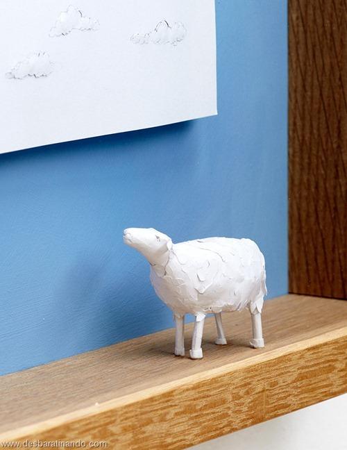 obras de arte em papel 3D origami Peter Callesen desbaratinando (39)