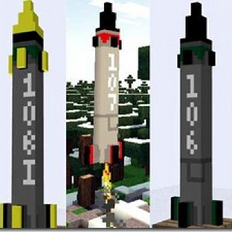 Minecraft 1.2.5 – ICBM Missili balistici Mod