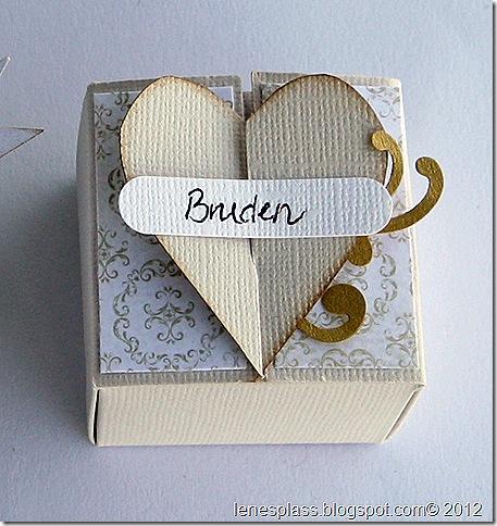 bordkort, hjerte