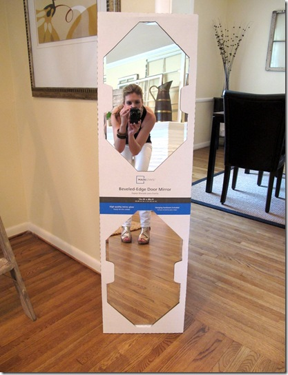 DIY Floor Mirror Wrap Up - Live The Home Life | Home Improvement and ...