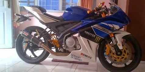 Modif Yamaha Vixion Pelek Jari Jari