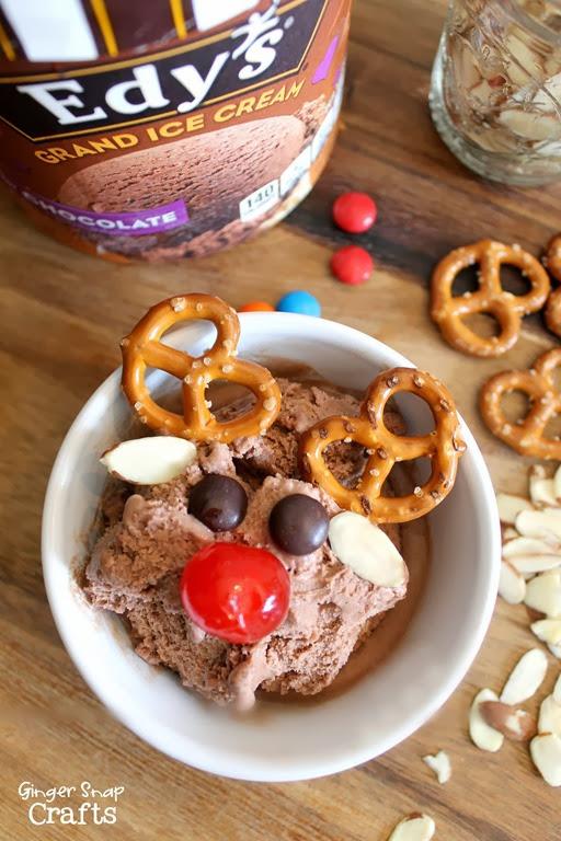 Edy's Grand Ice Cream #rudolph #icecreamsundae #shop