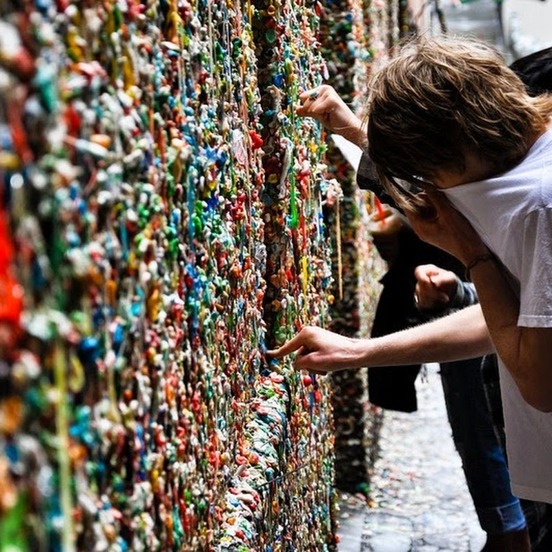 Bubble Gum Walls: America's Stickiest Attractions