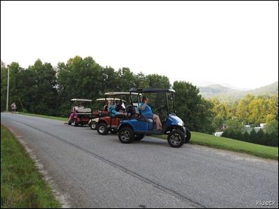 golfcart parade