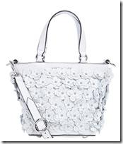 Karen Millen white flower bag