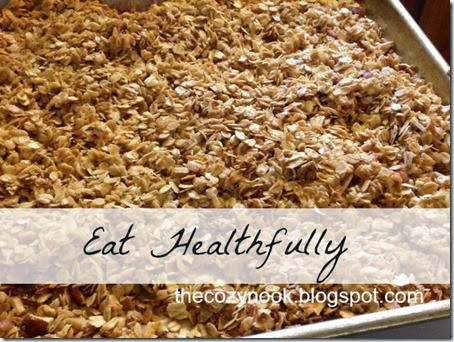 Eat Healthfully - The Cozy Nook
