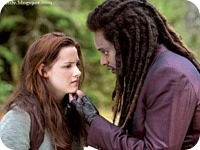 KRISTEN STEWART and EDI GATHEGI star in THE TWILIGHT SAGA: NEW MOON.