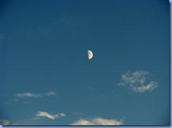 7410 Restoule Provincial Park - moon over Restoule Lake