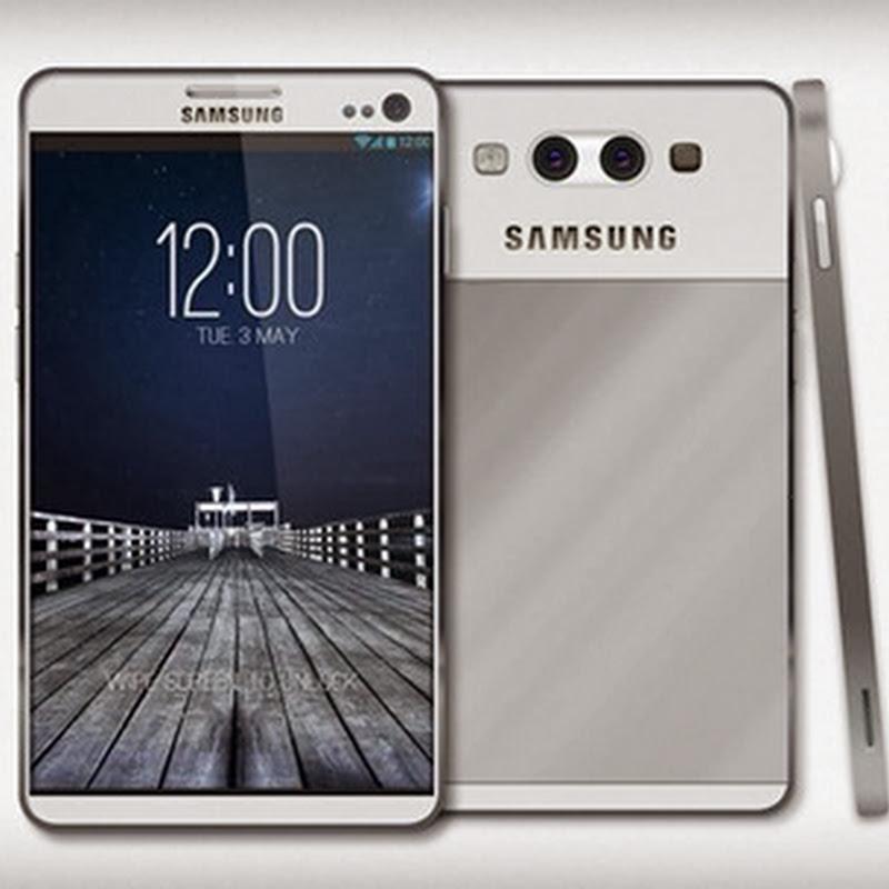 Samsung Galaxy S5 Terá Leitor de digitais no Botão Home