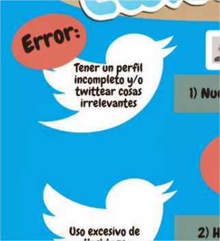 9 errores que no debes cometer si usas Twitter