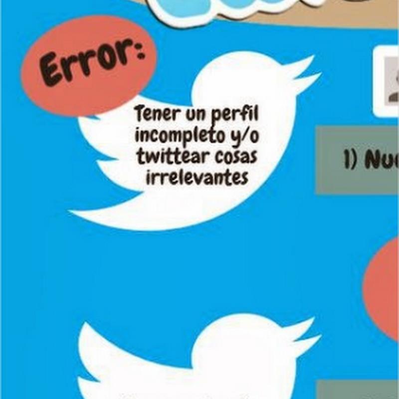 9 errores que no debes cometer si usas Twitter