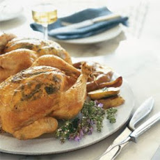 Roasted Chicken with Spring Herbs