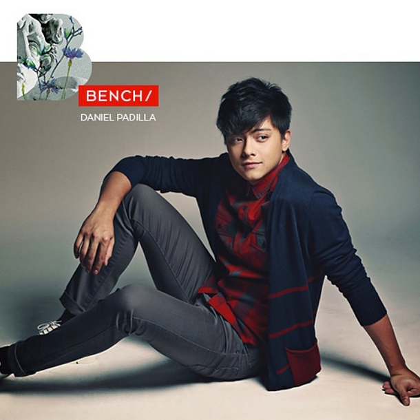 Daniel Padilla Bench back to school 2014