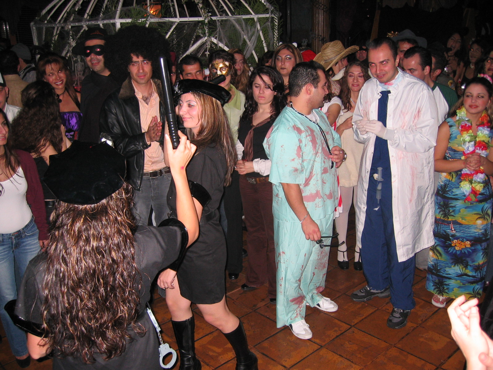 hyeties – halloween party 2004 - organization of istanbul armenians