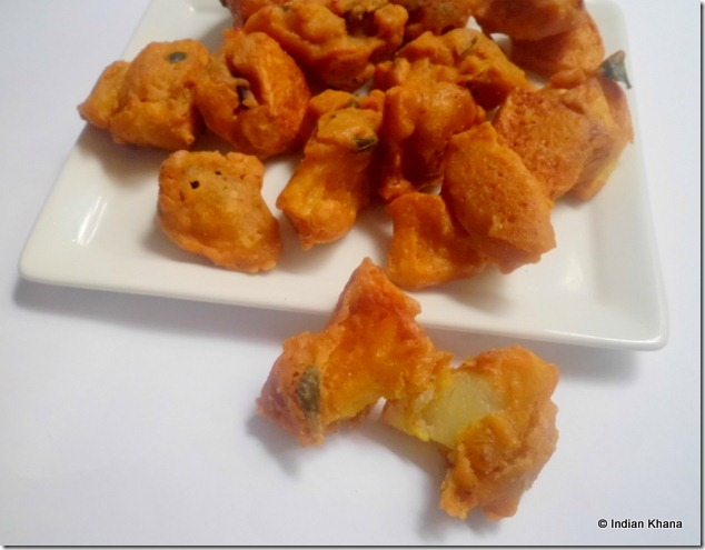Indian Potato Fritters Recipe — Dishmaps