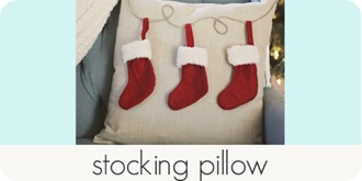 stocking pillow