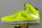 nike lebron 10 gr atomic volt dunkman 4 01 Nike, This is How We Want Our Volts! With Diamond Cut Swoosh.