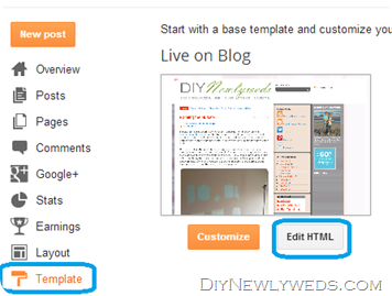 How to add a Meta Tag in Blogger
