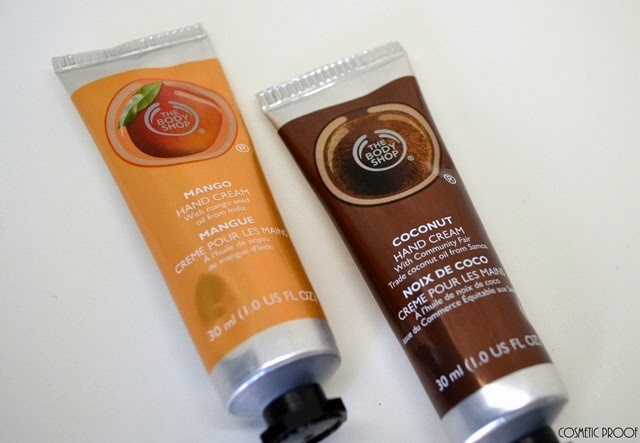 The Body Shop Coconut and Mango Hand Cream