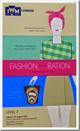 Fashion on the Ration poster