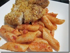 2-cheese pasta with breaded pork chops, 240baon