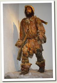 Ötzi Recreación