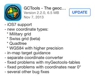 GCTools version 2.2.0
