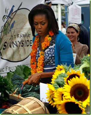 Michelle Obama Visits New Farmers Market Washington 07hGMx4pmwcl