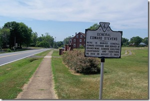General Edward Stevens - G-10 near entrance to Masonic Cemetery, Culpeper, VA