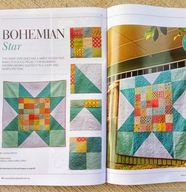 Bohemian Star Quilt DUQ