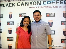 Black Canyon Coffee Grand Launch: Me with Hon. Mark Villar