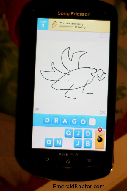 DrawSomething Free Dragon