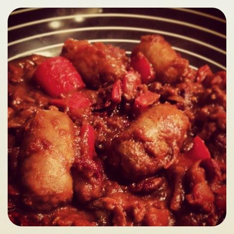 #358 - spicy sausage stew
