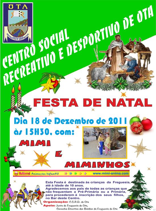 CSRDO - Festa Natal 2011