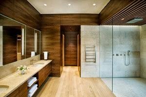 madera-teca-paredes-de-baños