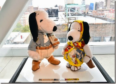 Peanuts X Metlife - Snoopy and Belle in Fashion Exhibition Presentation (Source - Slaven Vlasic - Getty Images North America) 14