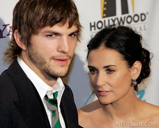 US-CINEMA-HOLLYWOOD FILM FESTIVAL-GALA-KUTCHER-MOORE