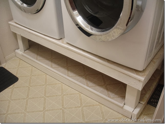Washer Dryer Stand13