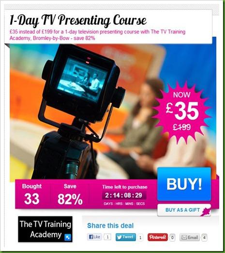 TV Presenters Course