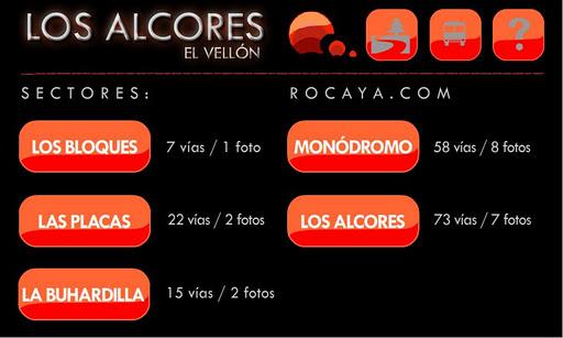 Rocaya El Vellon Climbing
